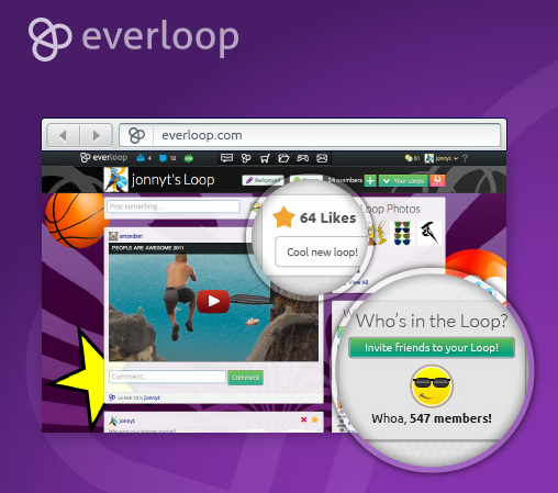 everloop social network for kids
